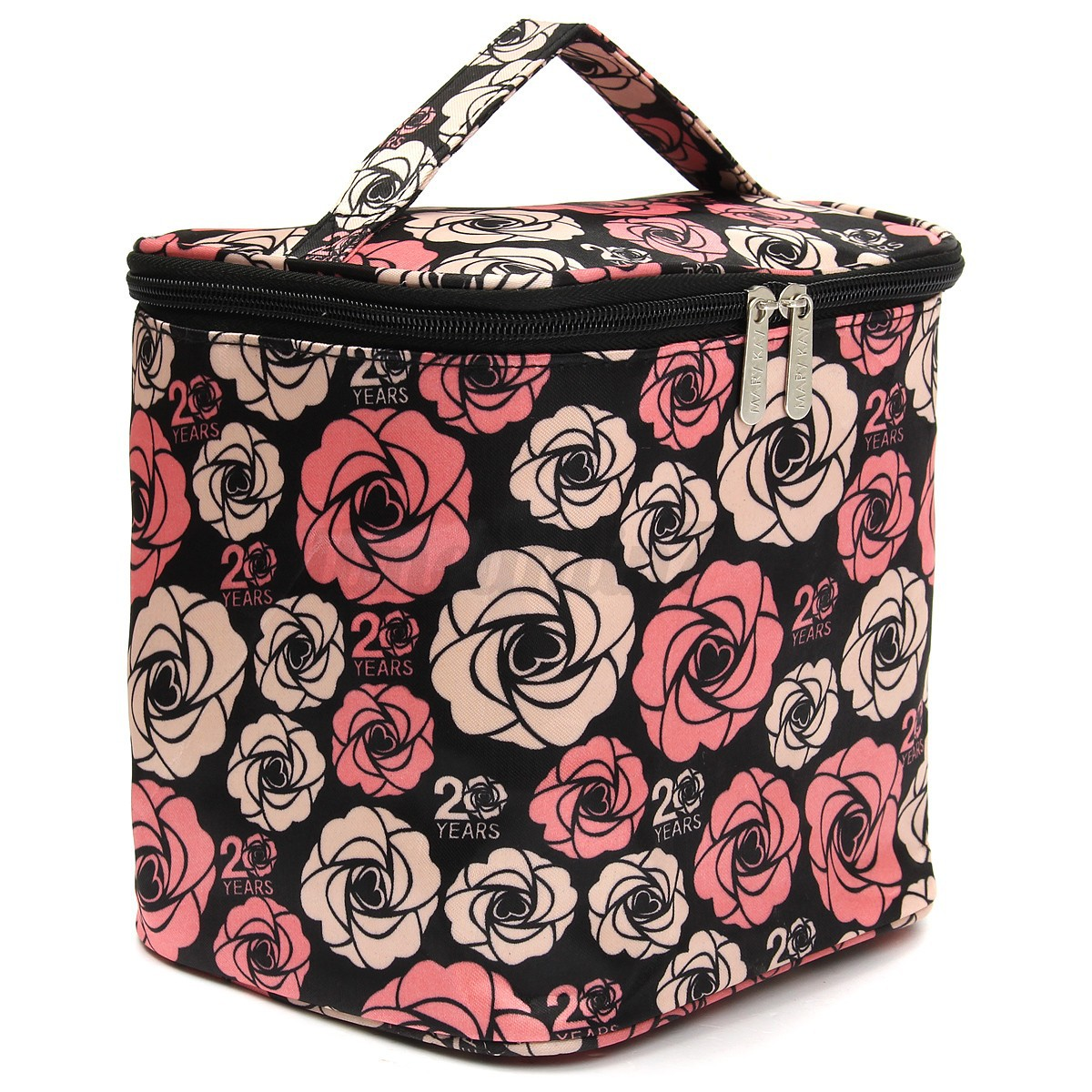 maquillage pochette trousse de toilette organisateur sac main rangement voyage ebay. Black Bedroom Furniture Sets. Home Design Ideas