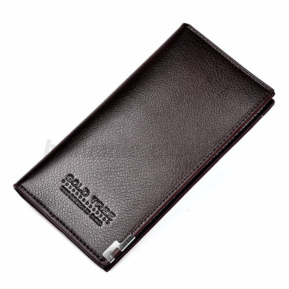 Fashion Men Leather Wallet Bifold Long Clutch Credit Card Coin Holder Purse HOT