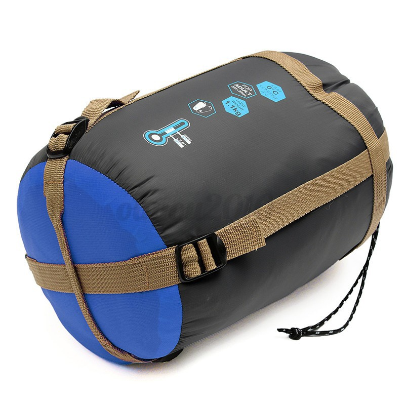 travel how to store sleeping bag