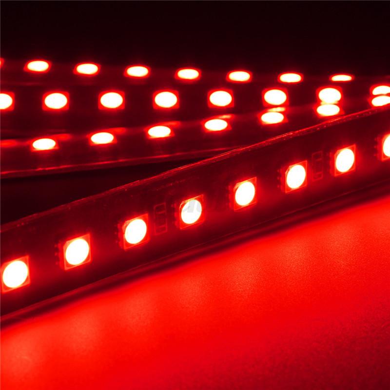4x kfz auto 2 led 5050smd beleuchtung unterboden strip innenraumbeleuchtung neu ebay. Black Bedroom Furniture Sets. Home Design Ideas