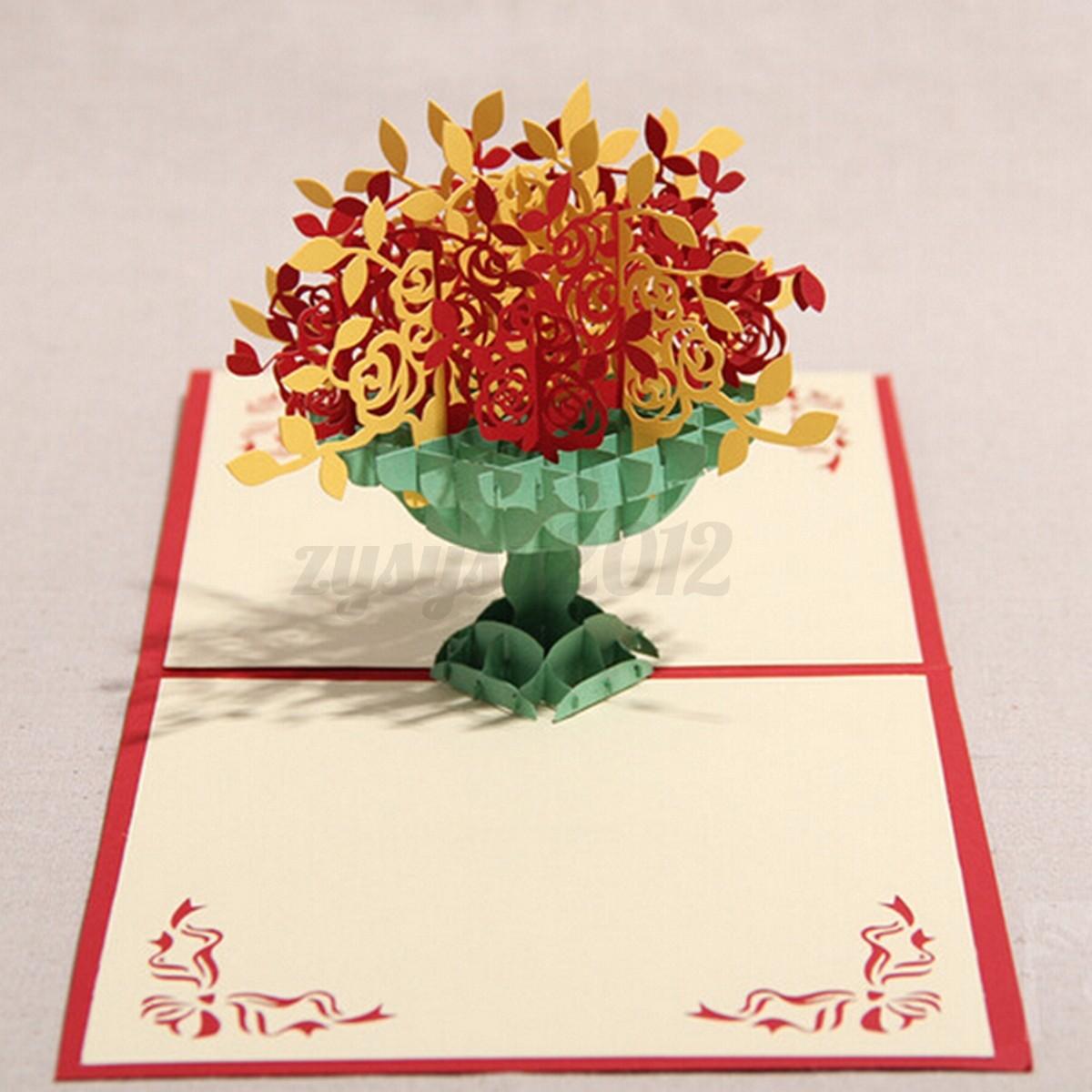 Pop-Up-Greeting-Card-Invitation-Anniversary-Party-Happy-Birthday-Cake ...