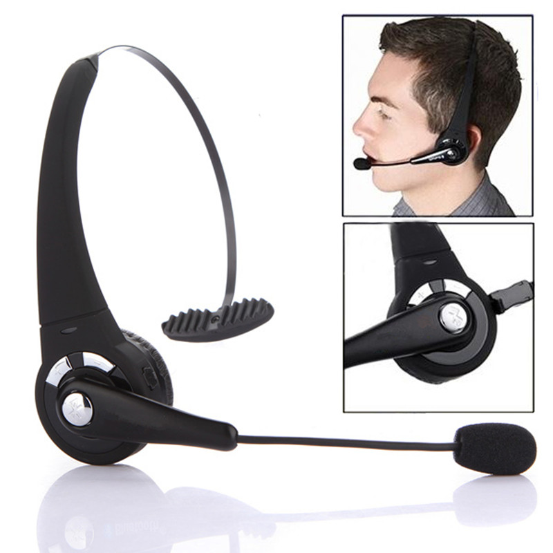 casque ecouteur micro sans fil bluetooth pour sony ps playstation 3 telephone ebay. Black Bedroom Furniture Sets. Home Design Ideas