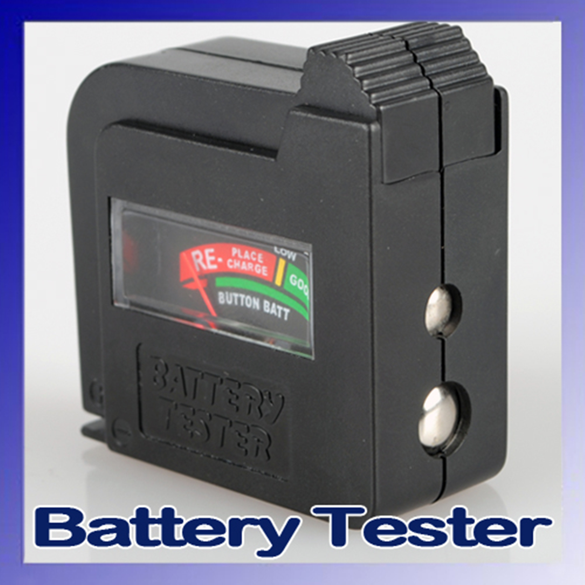 9 Volt Battery Tester : Aa aaa c d v universal button cell battery