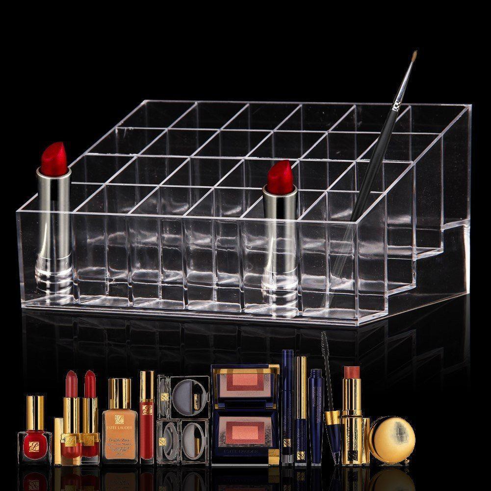 Cosm tique pr sentoir bo te acrylique rangement - Rangement acrylique maquillage ...