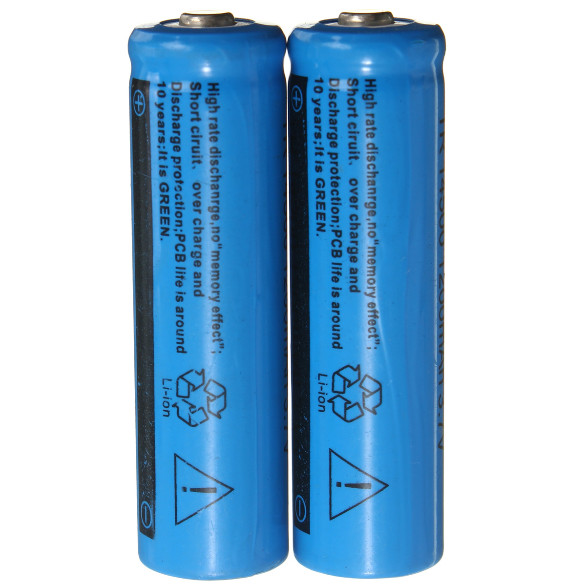 4 pcs 1200mah 3 7v 14500 aa li ion rechargeable battery. Black Bedroom Furniture Sets. Home Design Ideas