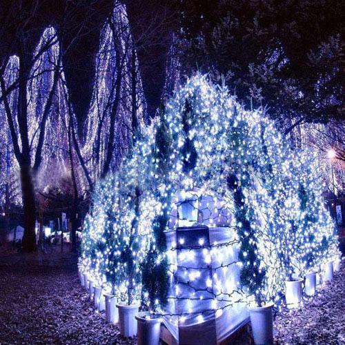 Eu 96 led fairy tira luces hada cadena navidad boda fiesta - Tiras led navidad ...