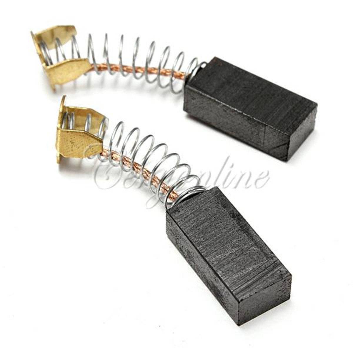 2pcs electric motor carbon brushes various sizes for