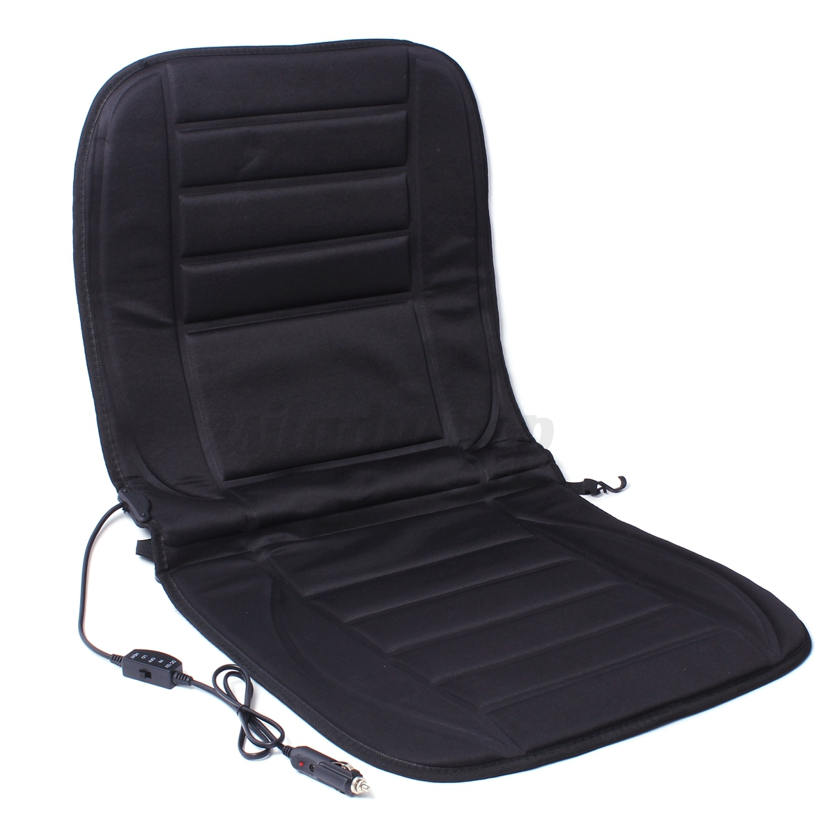 pair 12v winter warmer heat car heated seat cushion hot cover heating pad winter ebay. Black Bedroom Furniture Sets. Home Design Ideas