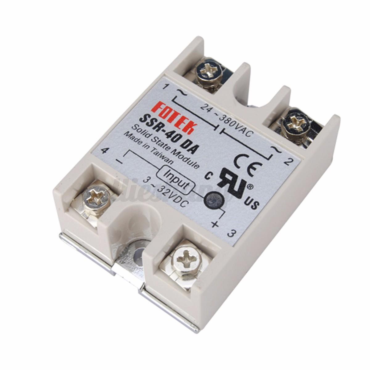 Digital PID Temperature Kontroller Controller Regler Max.40A SSR  #A72B24