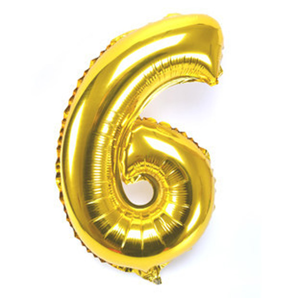 16/40'' Foil Balloon Numbers 0-9 Helium Large Baloons Happy Birthday Party Decor