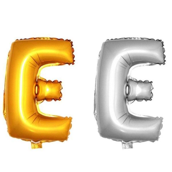 Ballon Lettres Gonflables Mariage Fête Aluminium Décoration 101CM Or ...