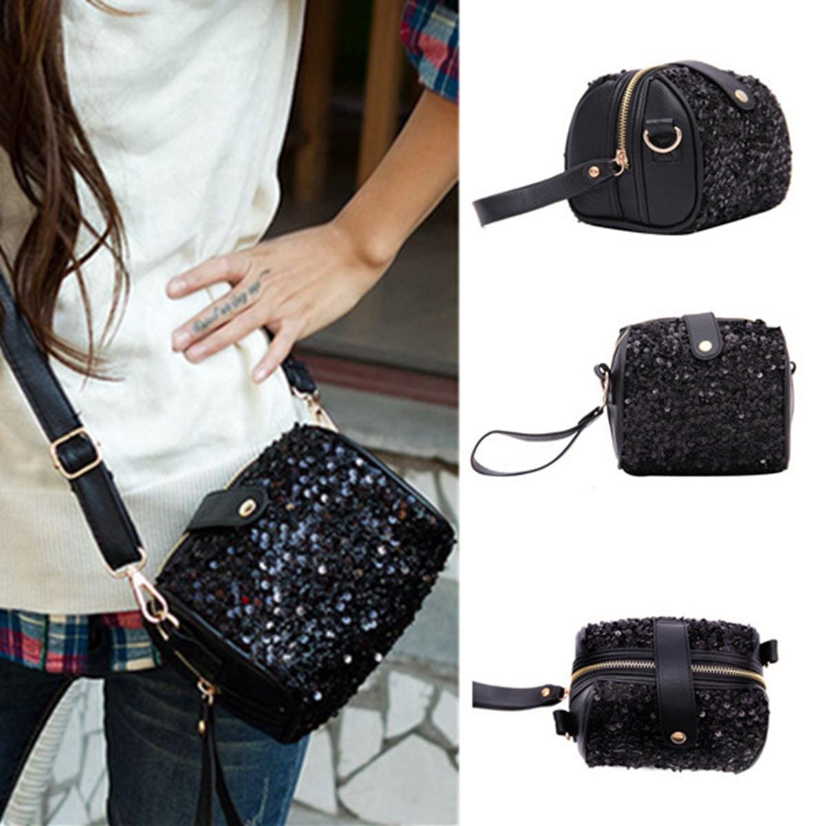 Portable Women Camera Bag Leather Shoulder Tote Purse Crossbody HandBag Wallet