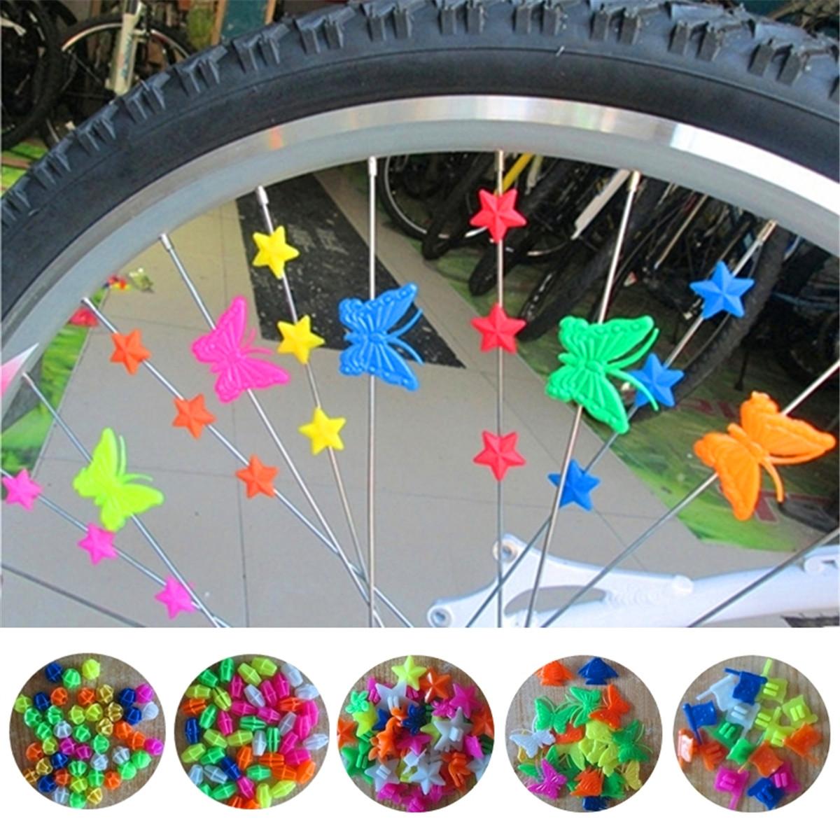 Как красива украсить велосипед