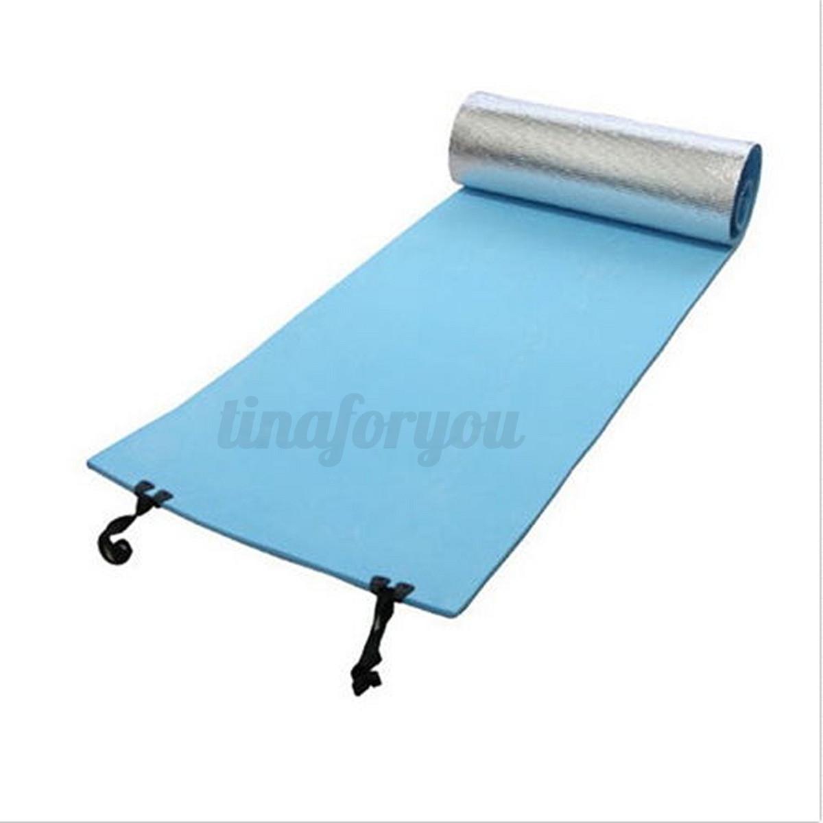 EVA Aluminium Camping Roll Up Foam Foil Sleeping Mat