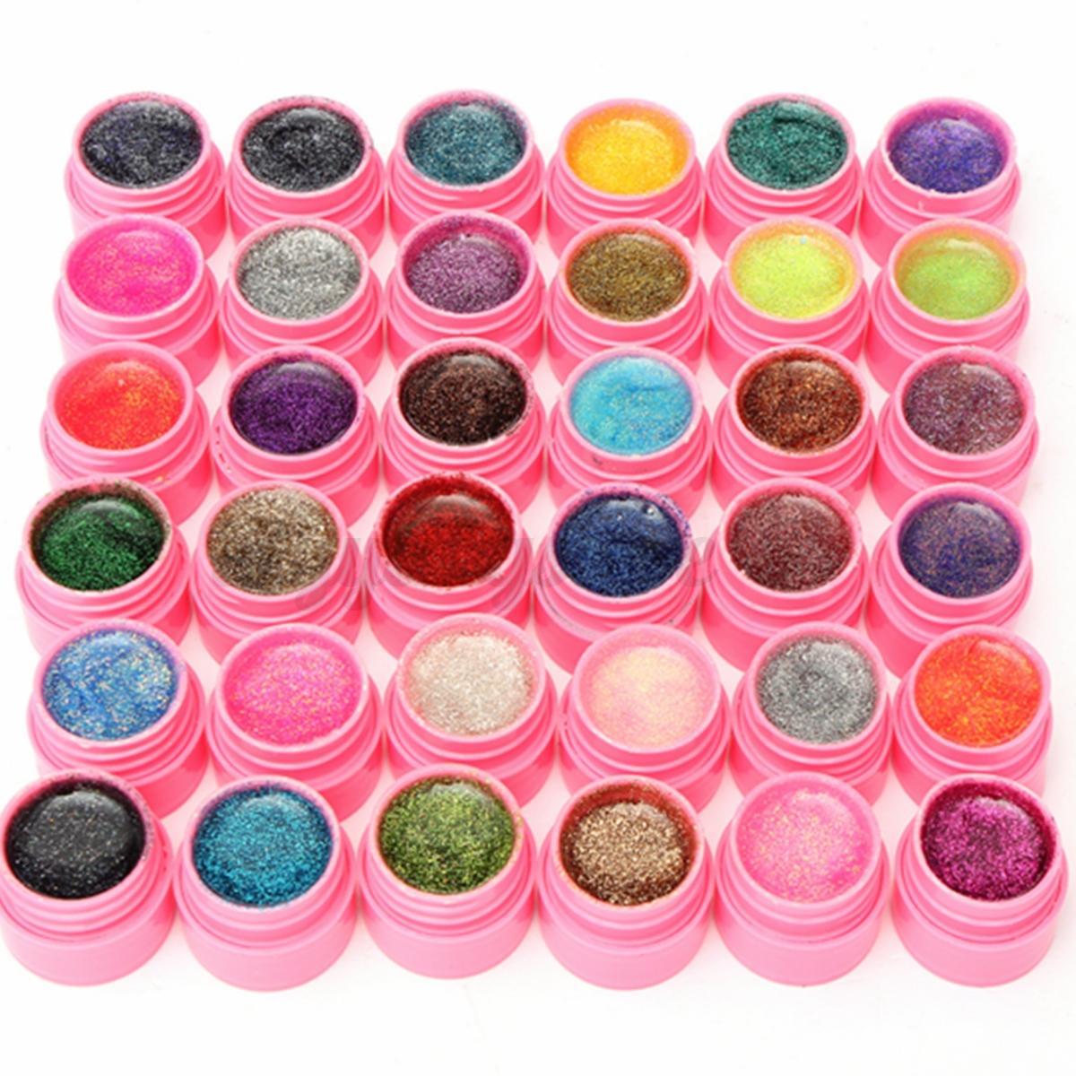 36-Pot-Pure-Glitter-Colors-UV-Gel-Nail-