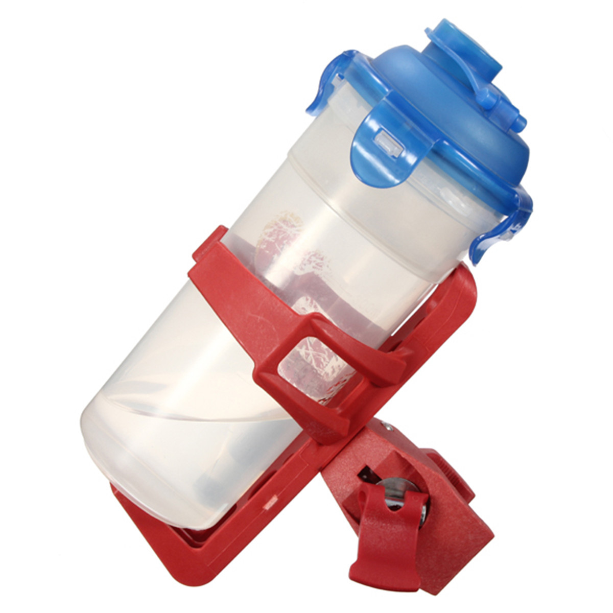 Cycling bike plastic handlebar water bottle mount cage for Plastic bottle storage