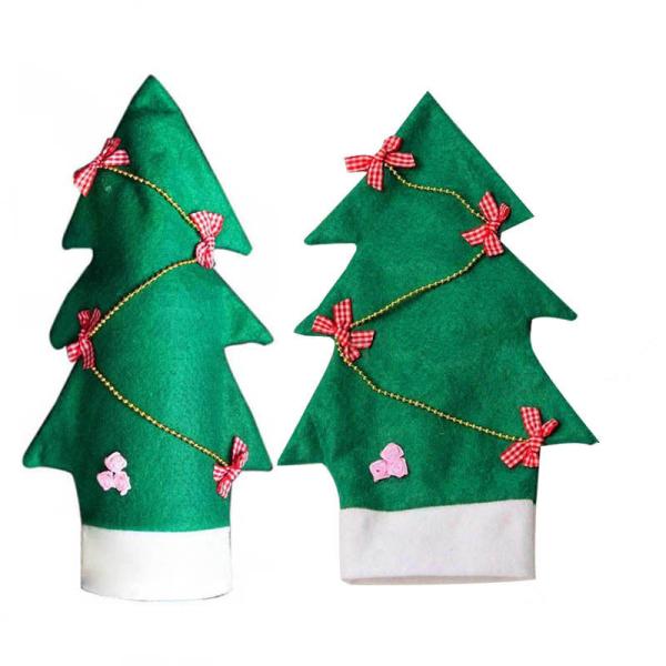 Vino navidad botella bolsa regalo padre navidad mu eco de - Regalo padre navidad ...