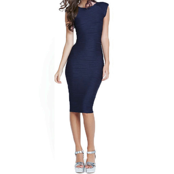 Fashion Women Bodycon Stretch Party Cocktail Evening Clubwear Mini Pencil Dress