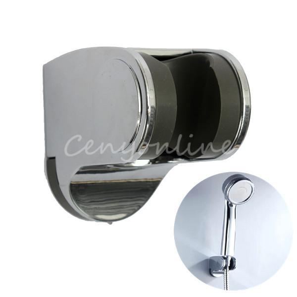 5 tipos ajustable succi n ducha taza cabeza titular for Soporte alcachofa ducha