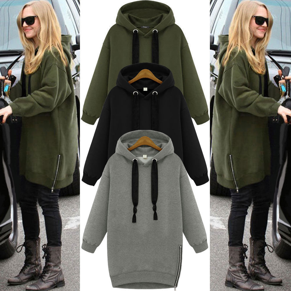 UK Seller Oversized Hoodie Baggy Jumper Hooded Sweater Sweatshirt ...