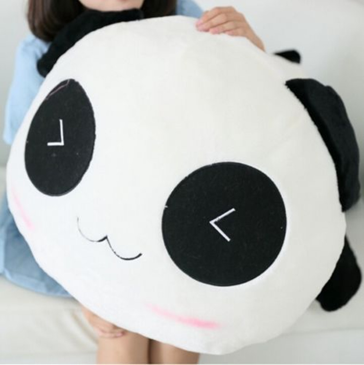 Stuffed Plush Doll Toy Animal Cute Panda Pillow Bolster Gift 25/35/45/55/70cm eBay
