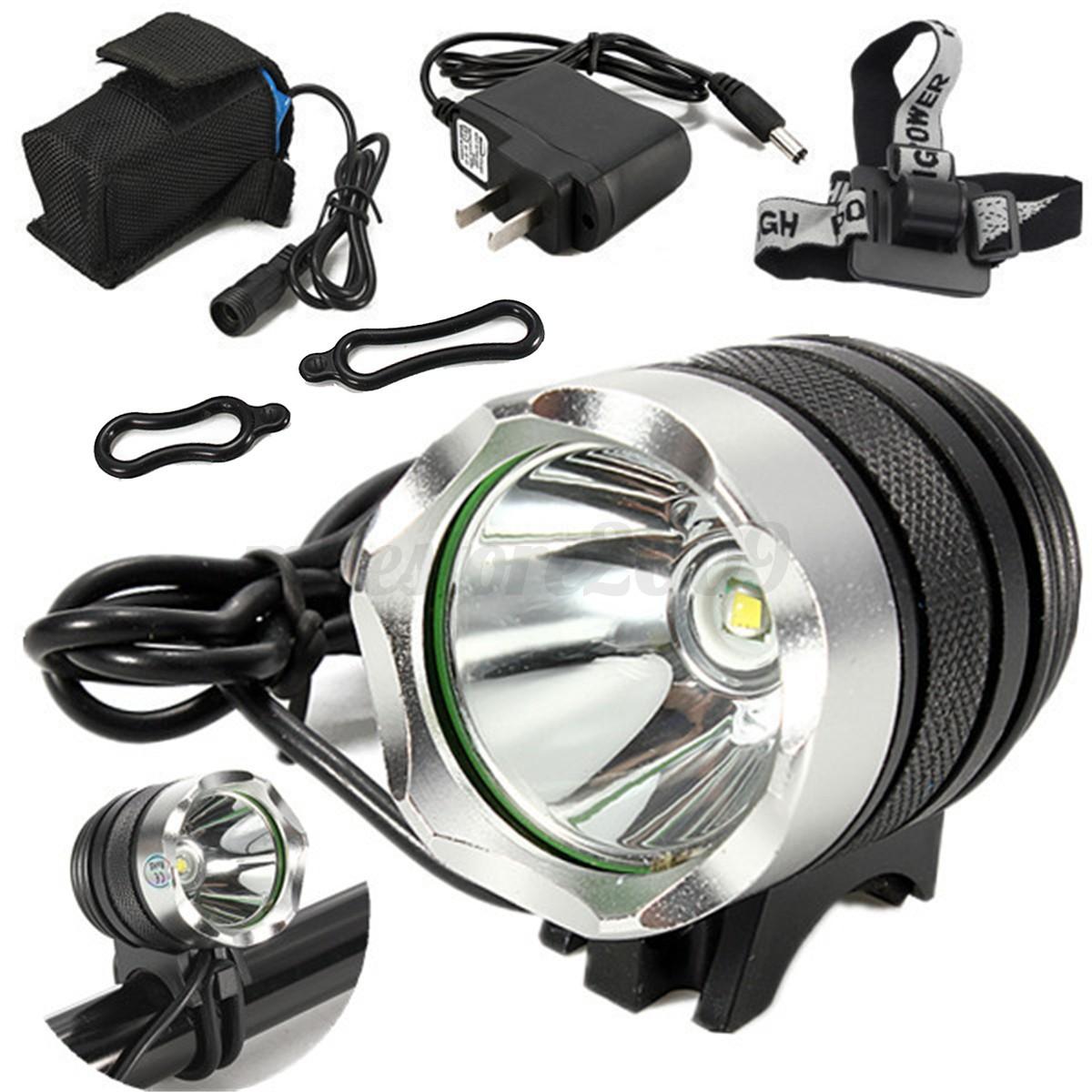 Elfeland 5000LM T6 LED Bicycle Bike Headlight Headlamp ...