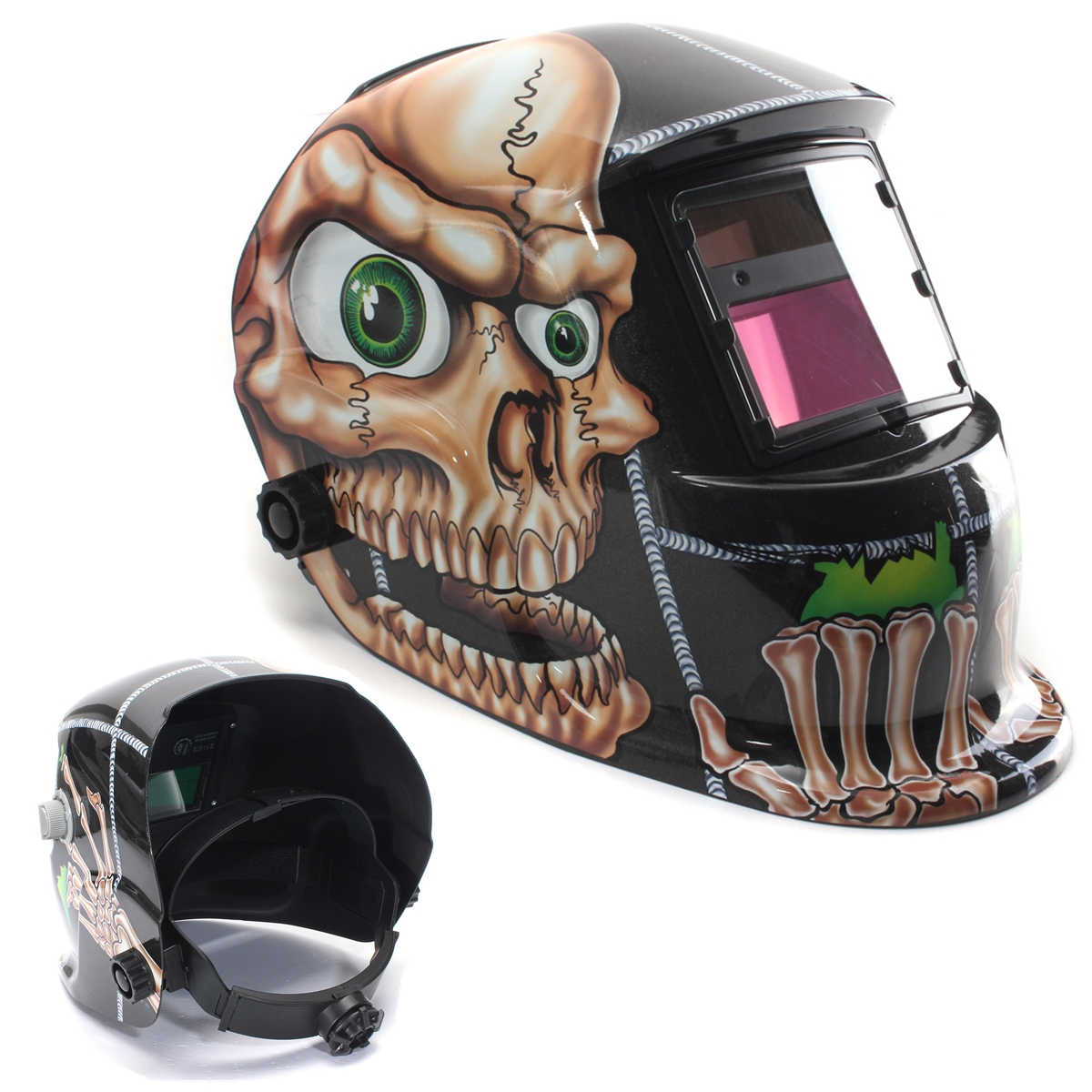 cr ne yeux cagoule soudure masque lcd tig solaire auto darkening welding helmet ebay. Black Bedroom Furniture Sets. Home Design Ideas