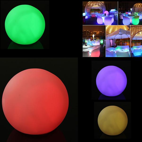 Spheriform Led Color Changing Mood Ball Night Light Indoor
