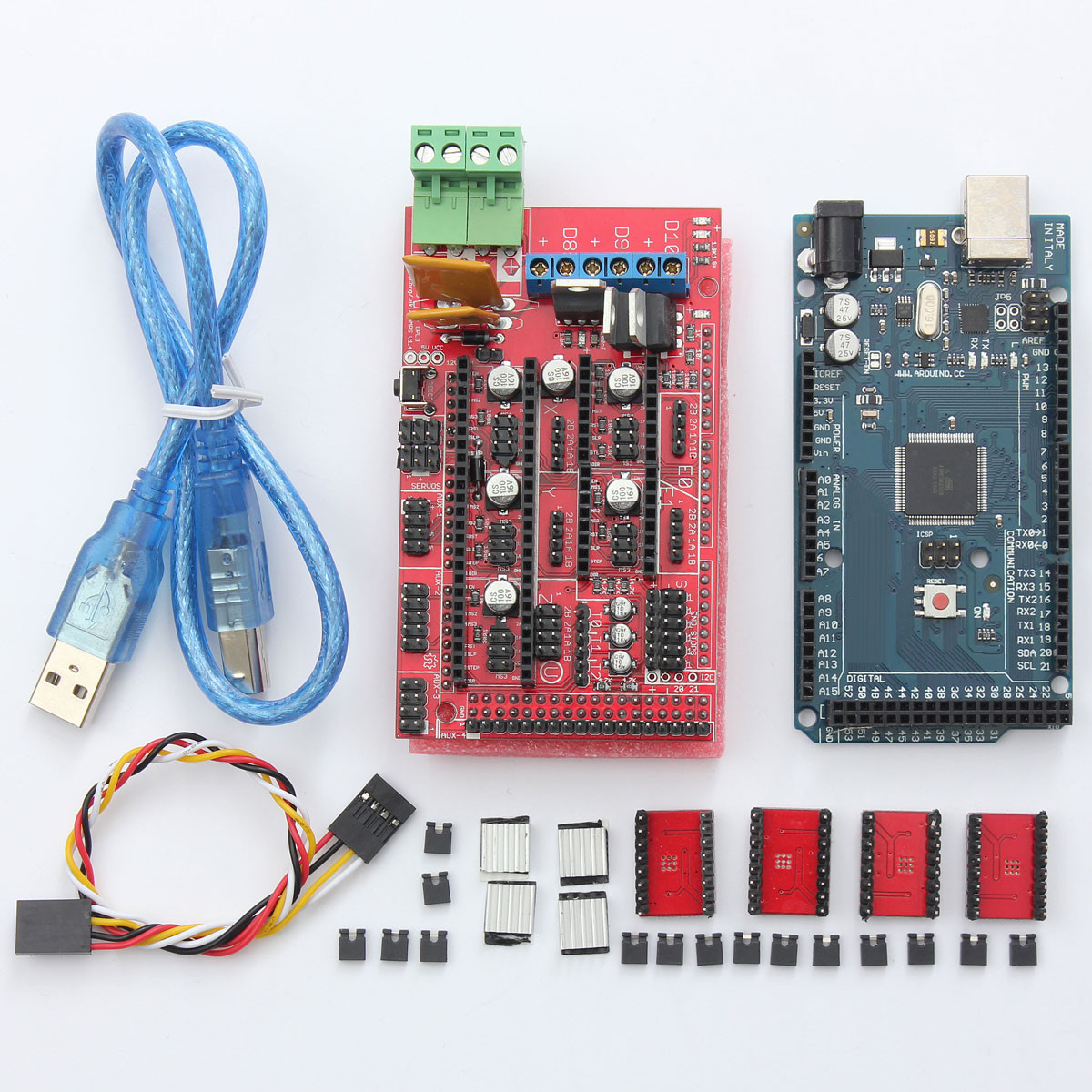 kit ramps 1 4 reprap a4988 stepper driver mega2560 pour d 39 imprimante 3d arduino ebay. Black Bedroom Furniture Sets. Home Design Ideas