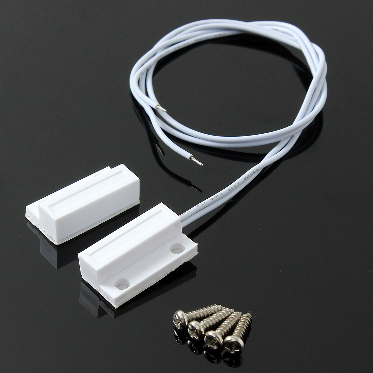 5 Set Recessed Door Window Contact Magnetic Reed Switch