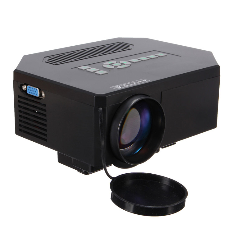 1200lumens 1080P 3D HDMI USB HD Home Cinema Video Game LED LCD Mini Projector