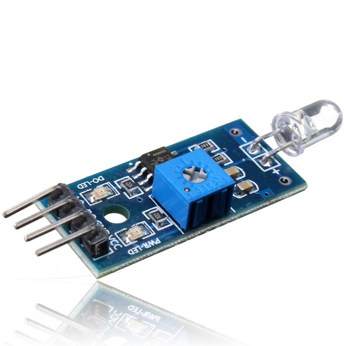 Pin photodiode photosensitive detection sensor module for