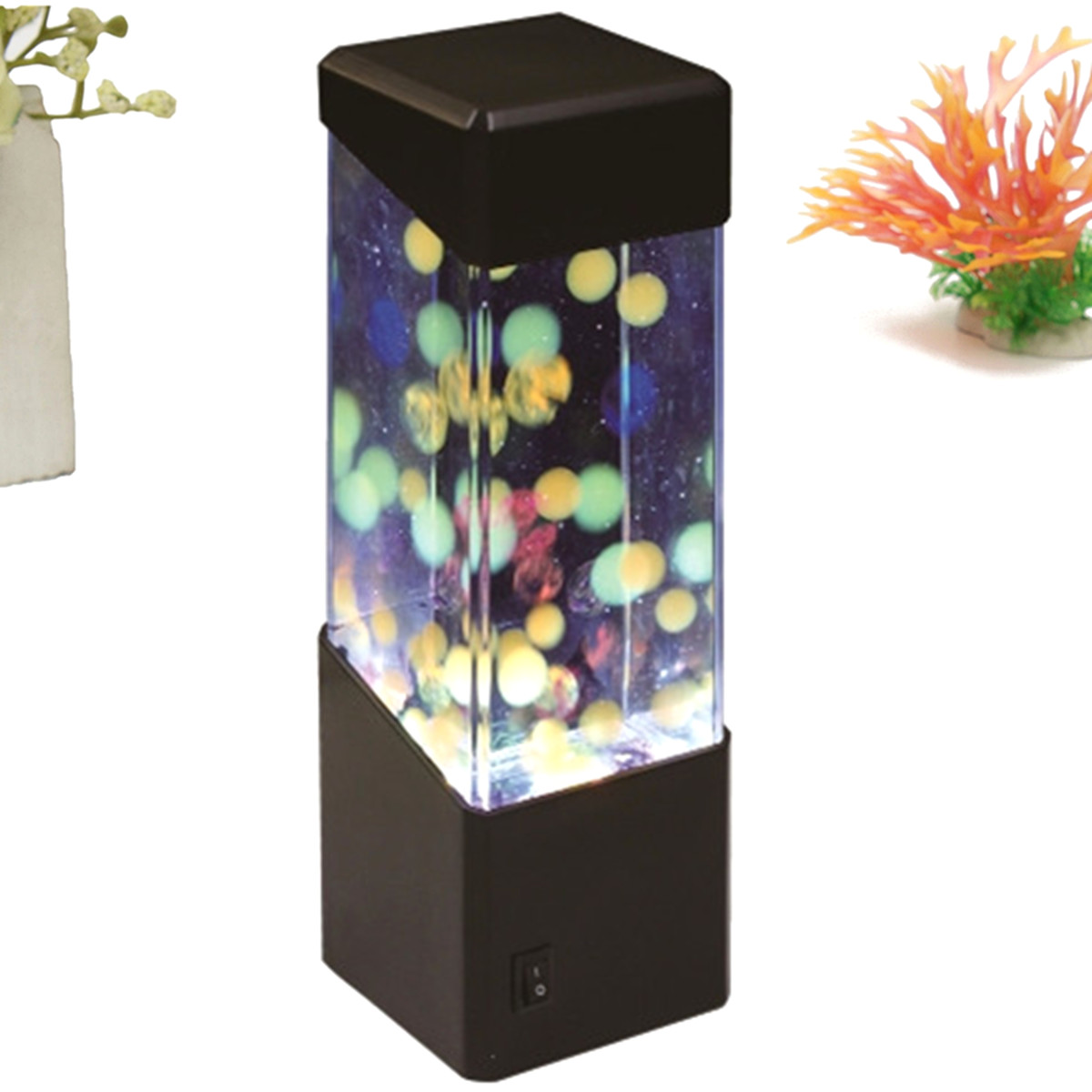 Casa cortes lush mosaic art glass 25 inch table lamps set of 2 - Table Lamp Aquarium