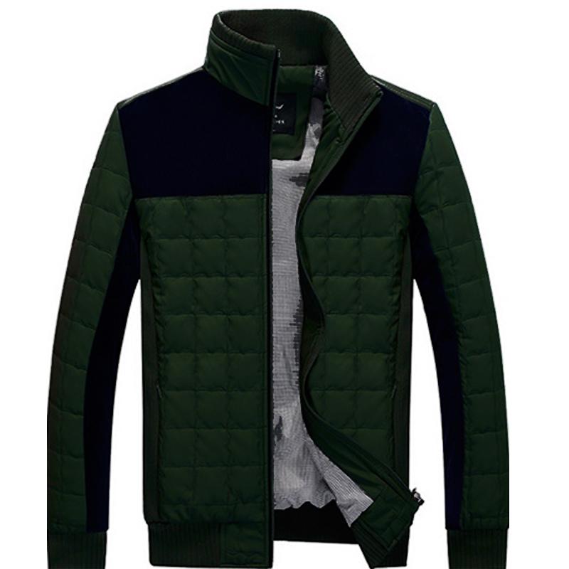 Podom Mens Stylish Warm Parka Slim Fit Winter Coat Jacket Outwear Overcoat Top | eBay