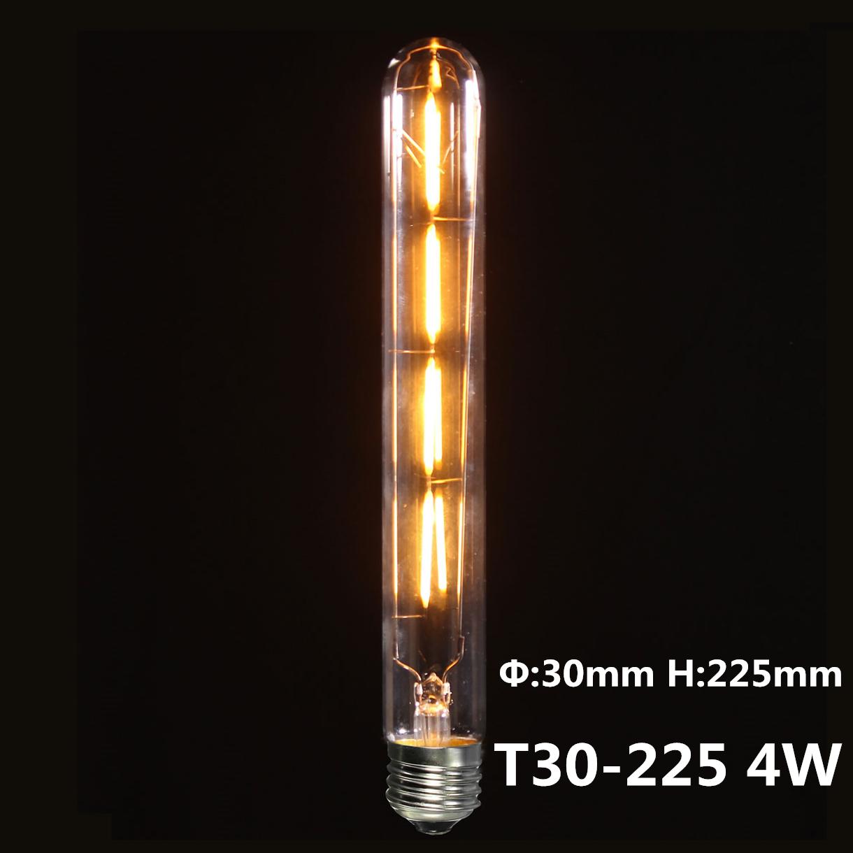 E27 LED COB Ampoule Filament Vintage Rétro Edison Lampe