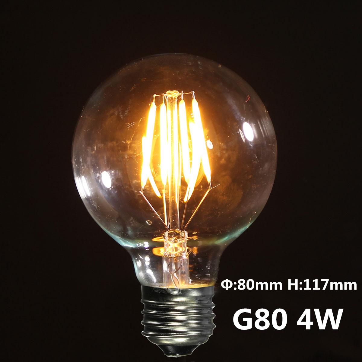 2 3 4w e27 es cob led vintage antique edison style light lamp bulb 240v new ebay. Black Bedroom Furniture Sets. Home Design Ideas