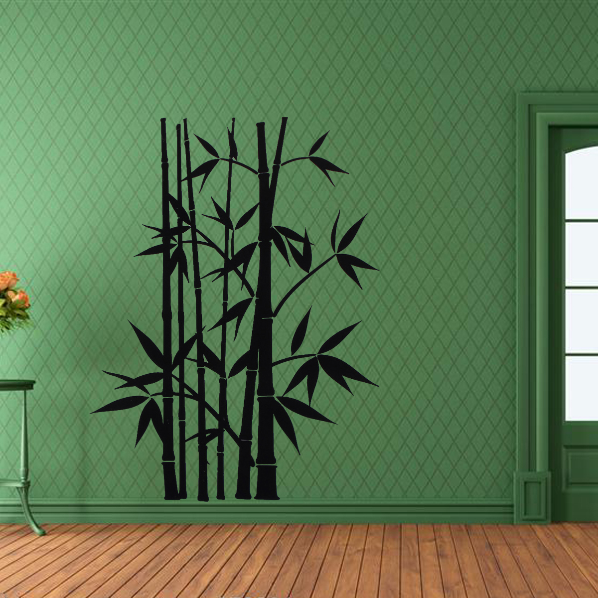Wall stickers bamboo choice image home wall decoration ideas removable wall sticker home decor art decoration mural decal vinyl removable wall sticker home decor art amipublicfo Images