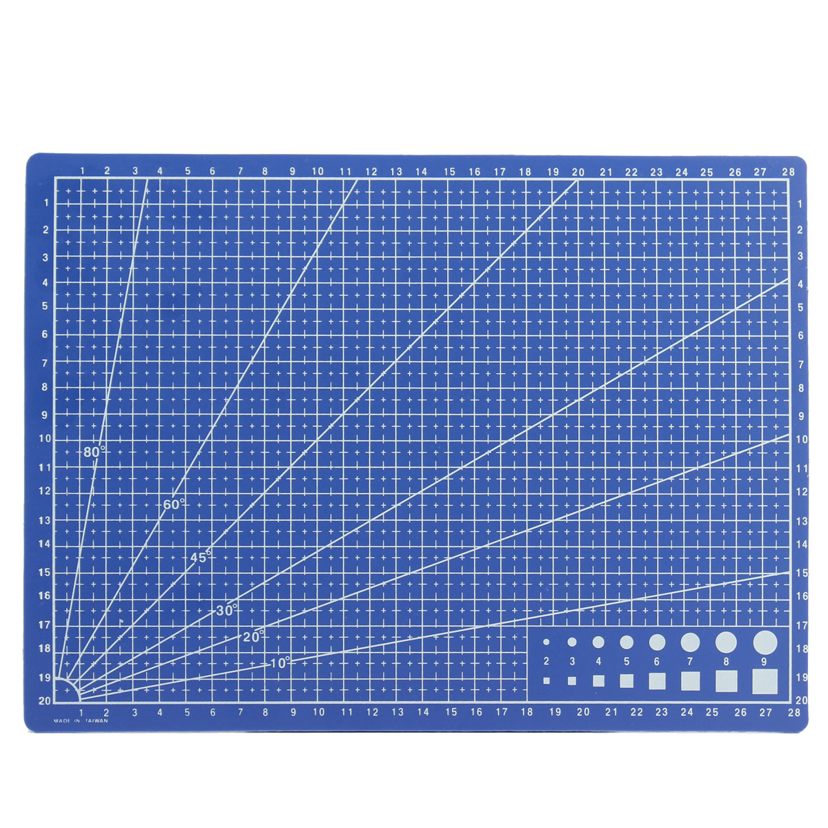 A4 cutting mat printed grid lines scale plate blade for Cutting mat for crafts