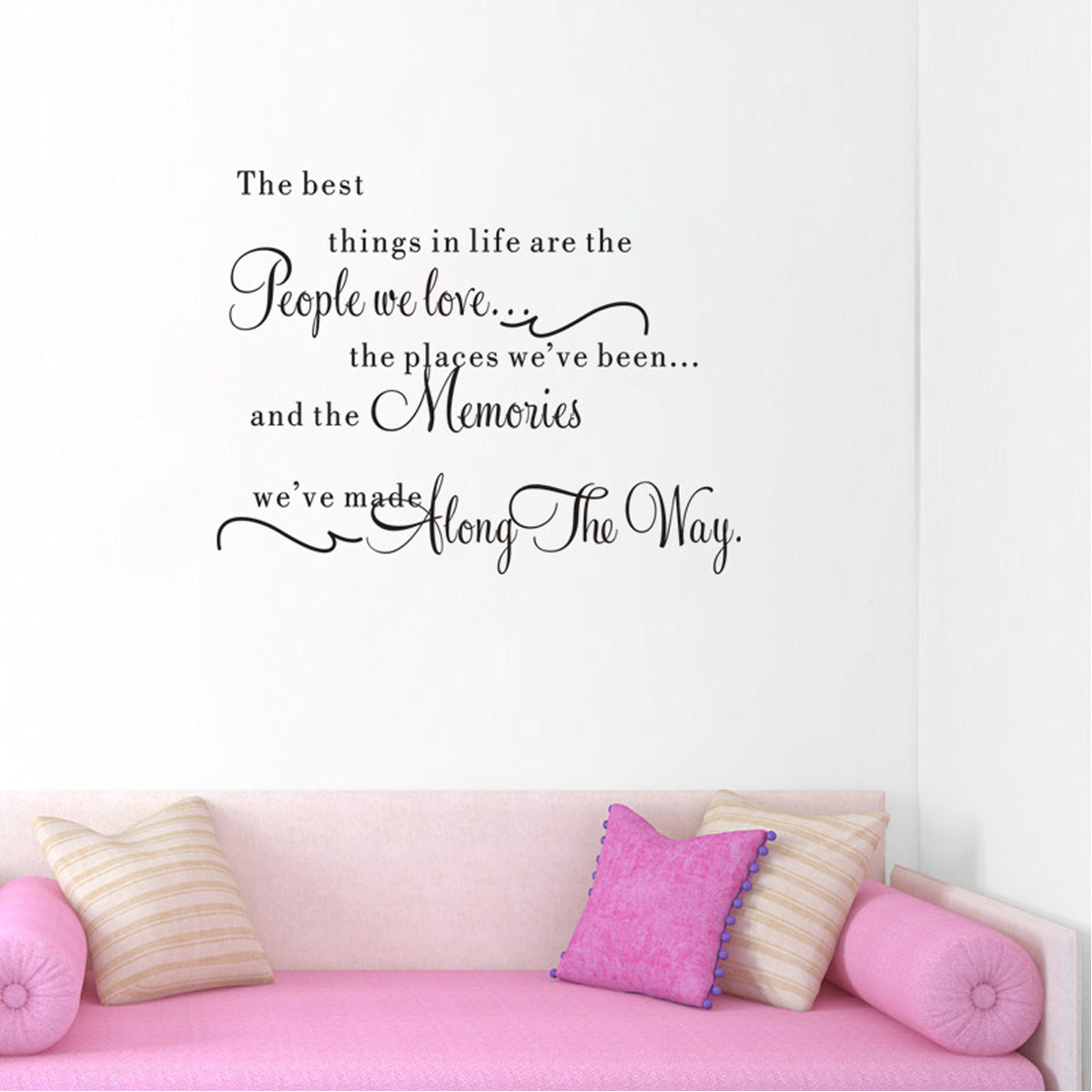 Love Wall Quotes Family Diy Quote Removable Art Wall Sticker Mirror Decal Mural