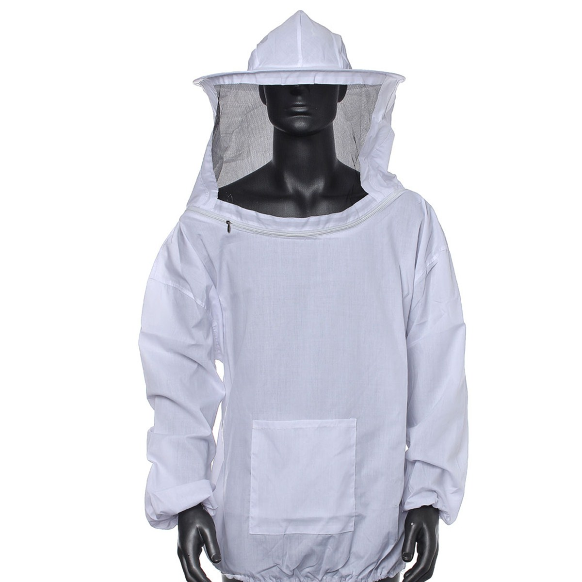 Protettivo Apicoltore Apicoltura Giacca Velo Vestito Con Cappello Cotone 4 Color