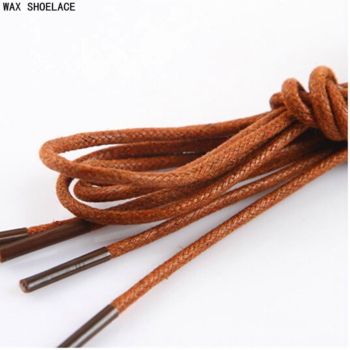 3mm 70cm waxed cord dress cotton shoe boot laces