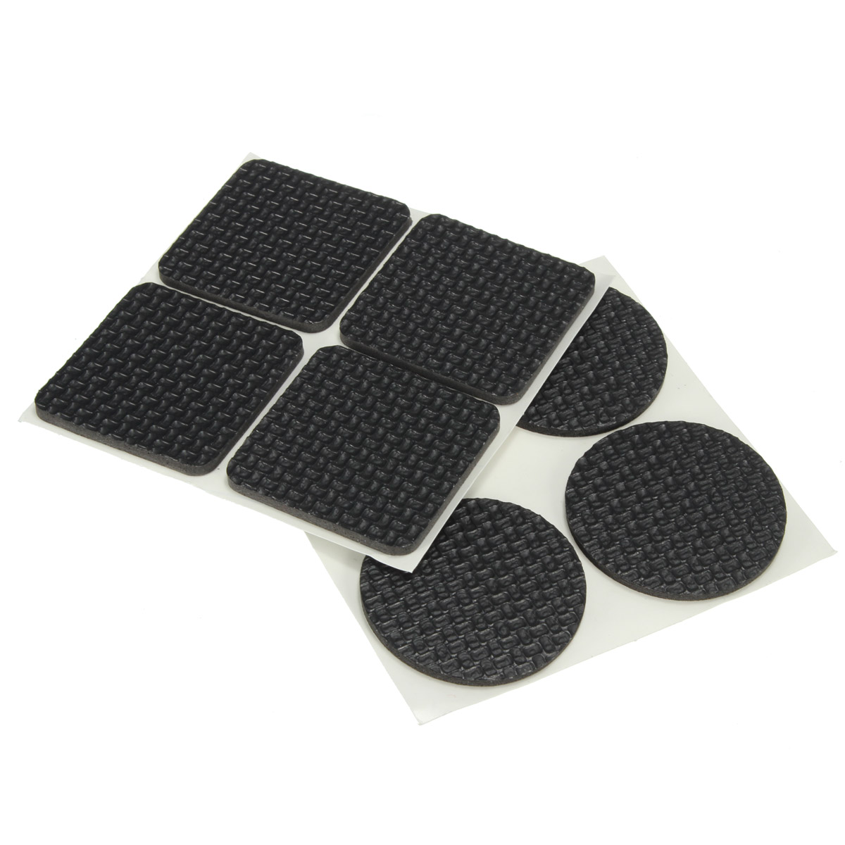 4 X 25mm Black Rubber Floor Protector Cap Furniture Chair Protector Anti Scratch