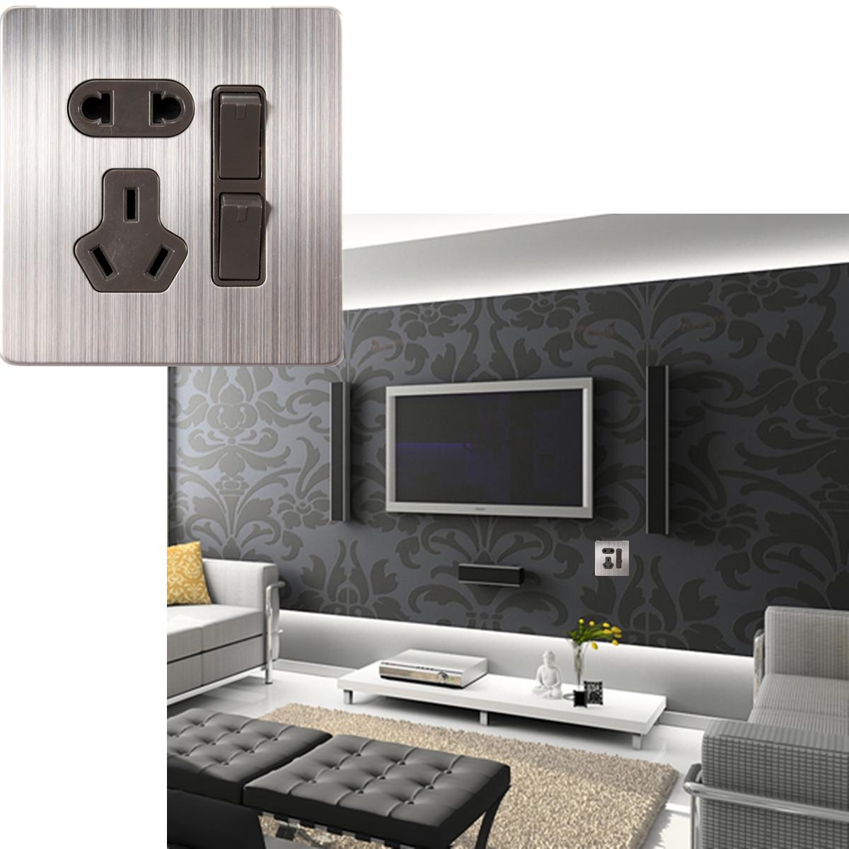 6 usb ports hub voyage chargeur mural socket adaptateur pr. Black Bedroom Furniture Sets. Home Design Ideas