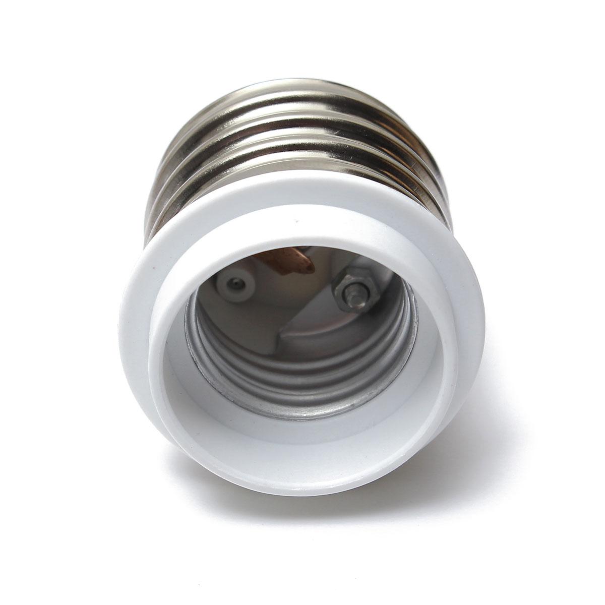 1 2 5 10x e40 vers e27 douille lampe ampoule adaptateur convertisseur vis socket ebay. Black Bedroom Furniture Sets. Home Design Ideas