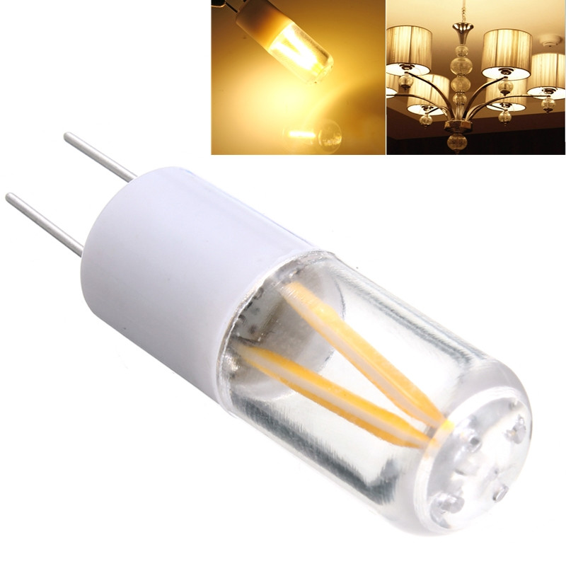 1 5w g4 cob filament led spot light bulb lamp warm pure white ac dc 12v 150lm ebay. Black Bedroom Furniture Sets. Home Design Ideas