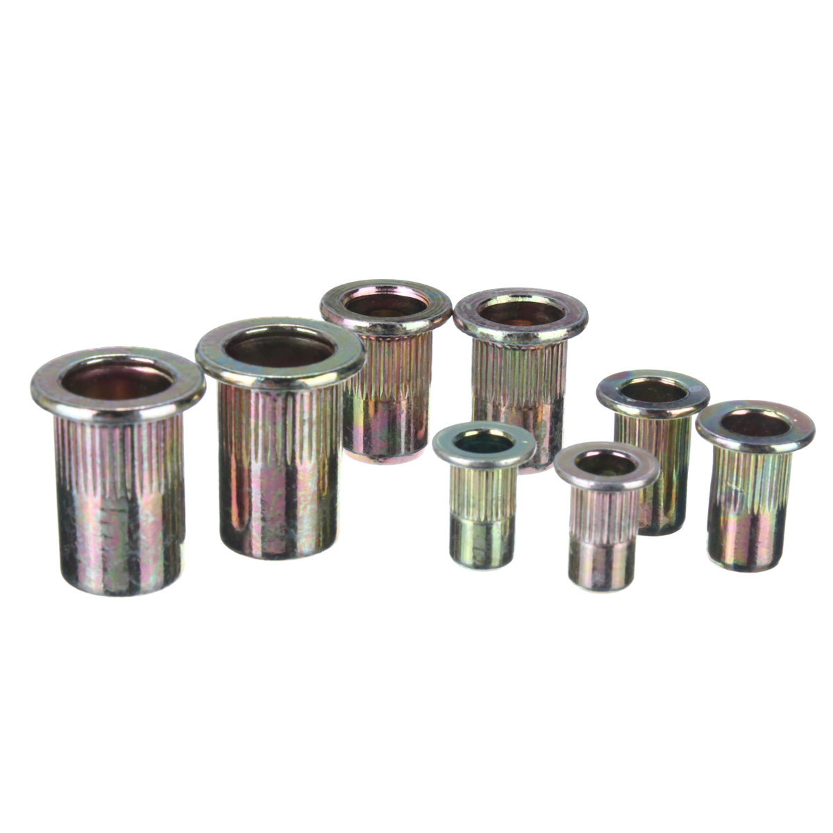 Pcs mixed pack threaded carbon steel rivet nut rivnut
