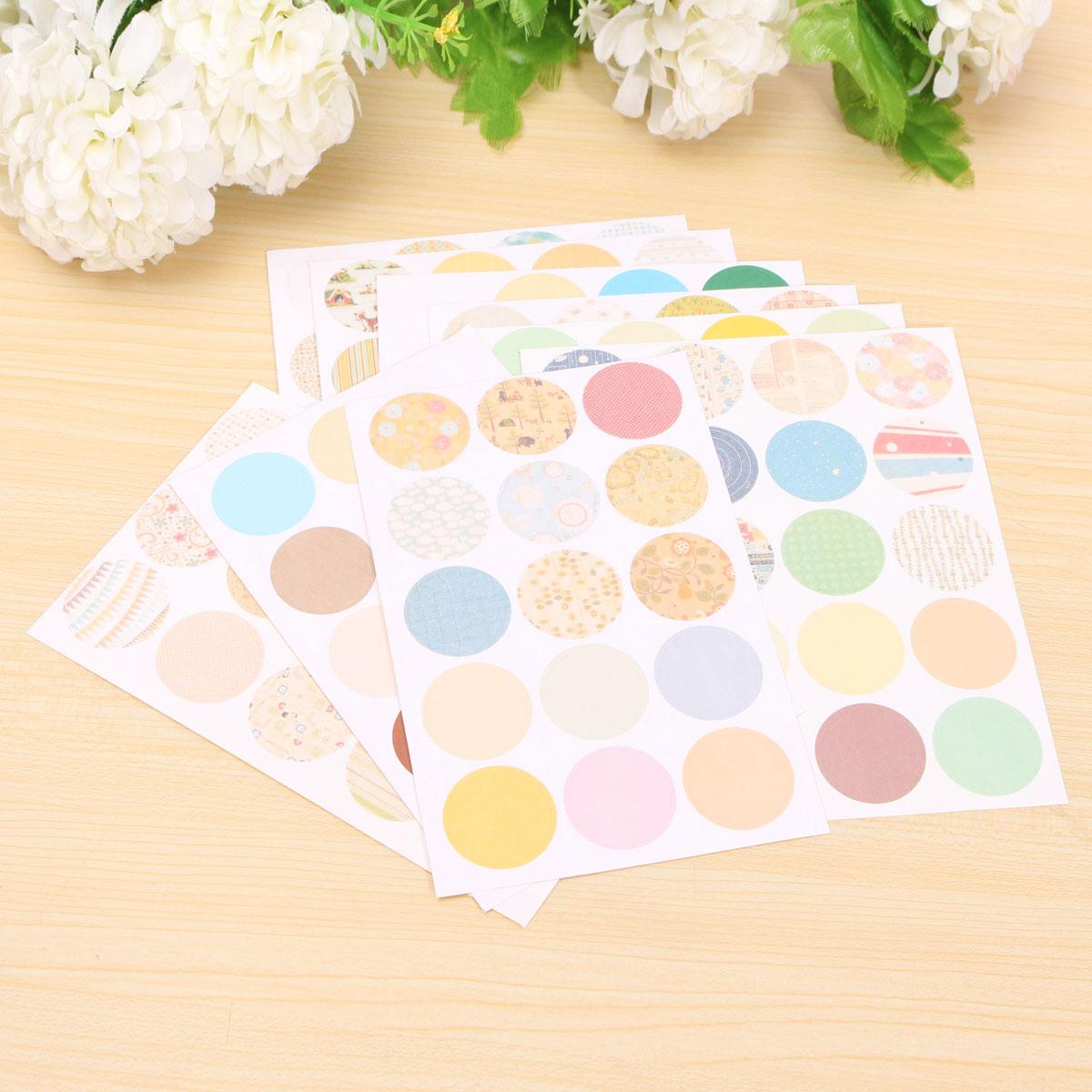 Multi Style Diary Album Notebook Decor Sticker Scrapbook Paper Album paster