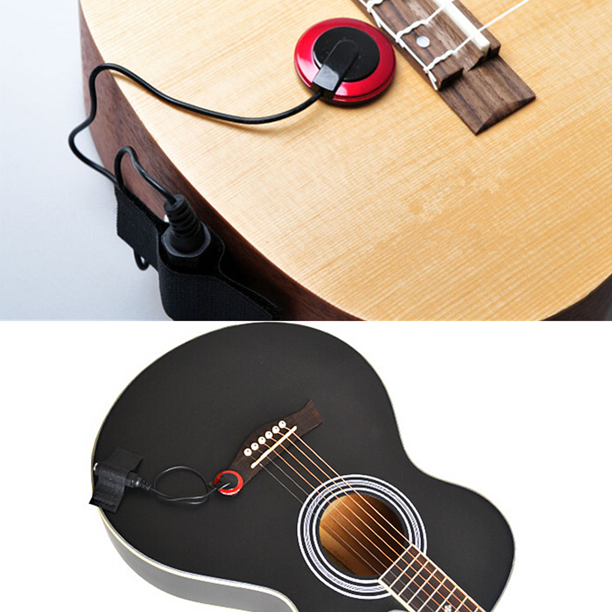 Пьезодатчик для акустической гитары своими руками