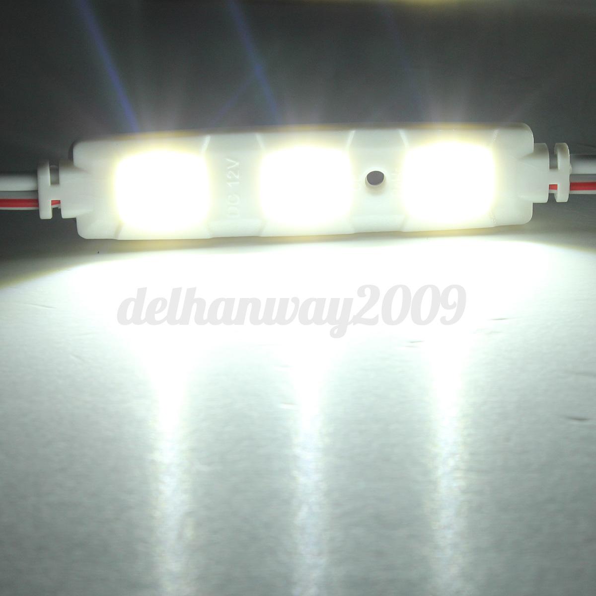 car light kit interior 12v volt 30 led white fits lwb van sprinter transit vw ebay. Black Bedroom Furniture Sets. Home Design Ideas