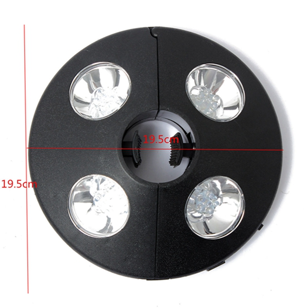 Solaire lampe parasol 24 led eclairage suspendu tonnelle for Eclairage de jardin led